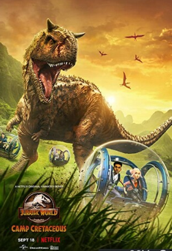 侏罗纪世界:白垩纪营地英文版