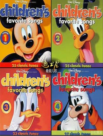 Disney Childrens Favorite Songs英文版