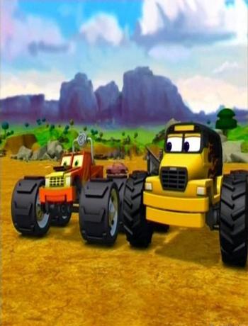 反斗冲锋车英文版 Meteor and the Mighty Monster Trucks