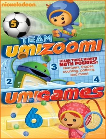 数学城小兄妹/呜咪123英文版 Team Umizoomi