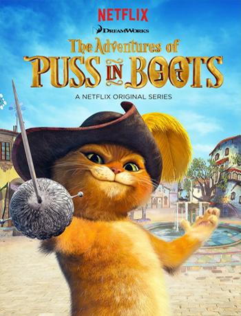 穿靴子的猫历险记英文版 The Adventures of Puss in Boots